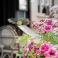 カフェとお花